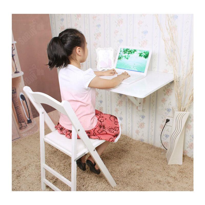 SoBuy tavolo a muro Tavolo Pieghevole tavolo cucina bianco FWT01-W
