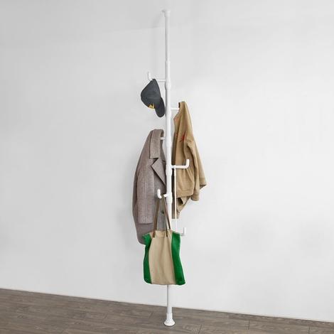SoBuy Telescopic Umbrella Coat Stand Rack Organiser,FRG159-W
