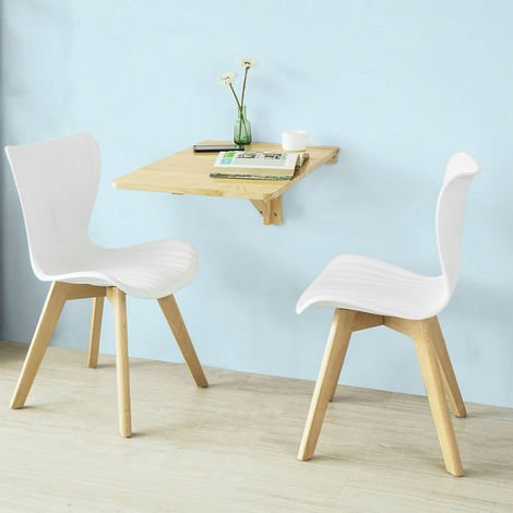 So Wall Mounted Drop Leaf Table Folding Kitchen Dining