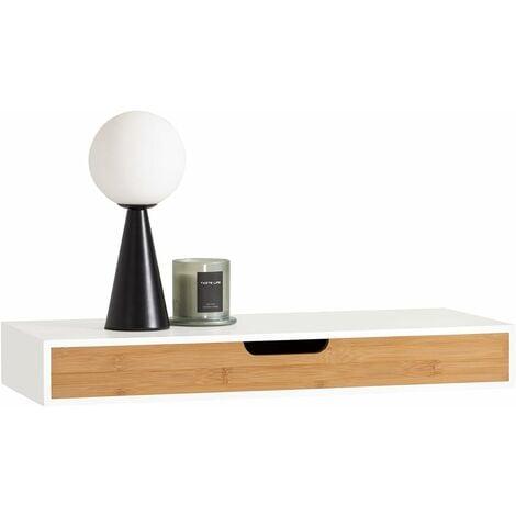 "main image of ""SoBuy Wall Shelf Storage Display Shelving,Floating Shelf with Drawer,FRG92-WN"""