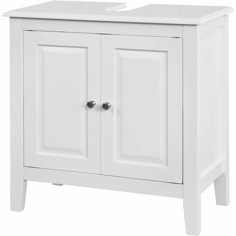 SoBuy Waschbeckenunterschrank,Unterschrank,FRG202-W
