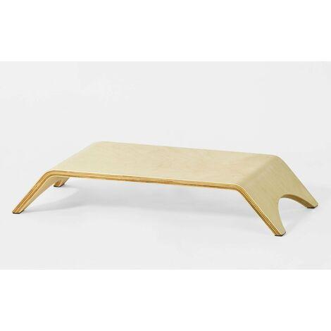SoBuy®FRG98-N, ES Universal Desktop Monitor Altura Soporte de madera del sostenedor del muelle del soporte de pantalla para el ordenador portátil PC