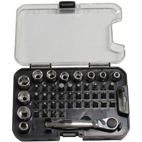 "main image of ""Socket & Wrench Bit Set - DIY Hand Tools Screw Drivers"""