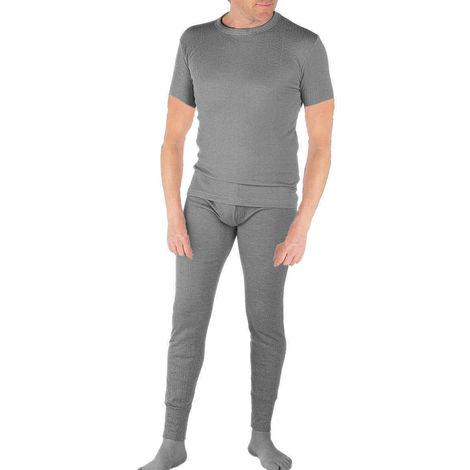 Socks Uwear Mens Winter Short Sleeved Thermal Underwear Set