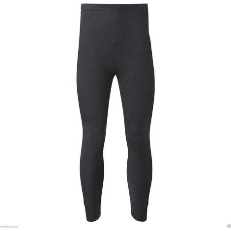 Socks Uwear Mens Winter Thermal Long John (Pack Of 2)