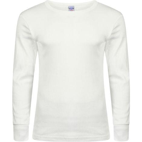 Socks Uwear Mens Winter Thermal Long Sleeve T Shirt (Pack of 2)