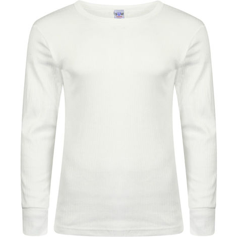 Socks Uwear Mens Winter Thermal Long Sleeve T Shirt (Pack of 5)