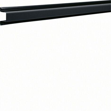 Socle central pour BKIS épais 25mm double hauteur acier RAL 9011 noir (BKIS251301M9011)
