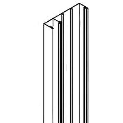 Socle de goulotte GTL Largeur 250mm longueur 2500mm prof 60mm blanc sans couvercle COFRALIS REHAU 732409