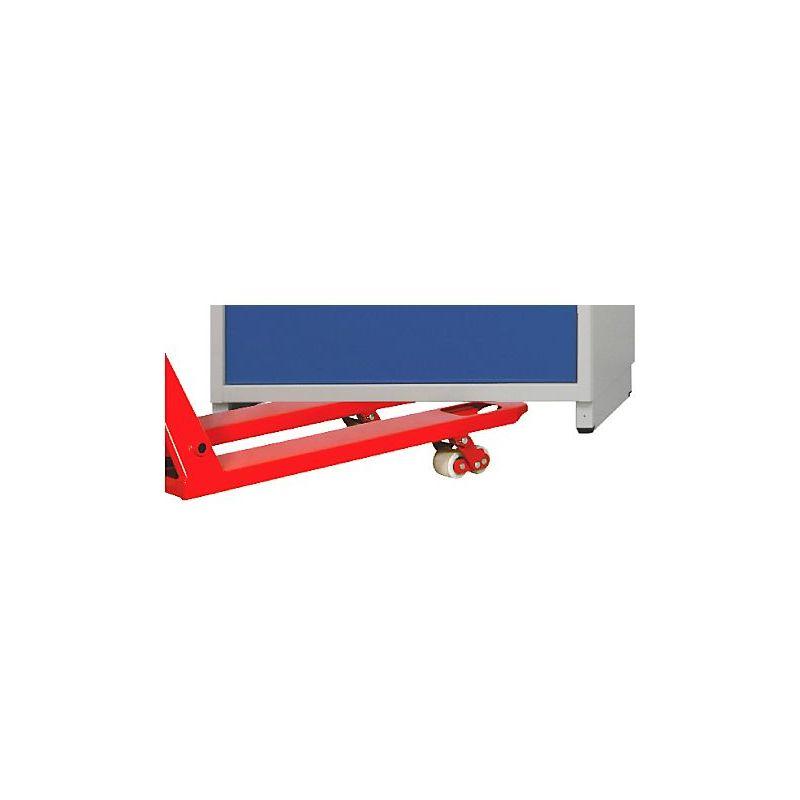 Socle de manutention, pour armoire à tiroirs de l x p 760 x 675 mm largeur 760 mm - ANKE