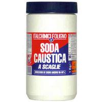 Soda caustica a scaglie 1Kg disincrostante igienizzante multiuso fai da te 52114