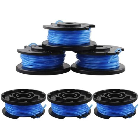 SOEKAVIA 6 Pièces Bobines de Rechange pour Câble d'Alimentation Automatique Ryobi One + AC14RL3A-18V 24V 40V Ryobi Bobines de Fil pour Coupe-Bordure