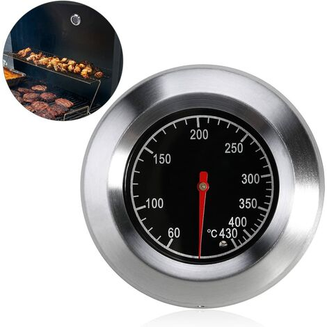 """main image of """"SOEKAVIA BBQ Thermometer for All Barbecues, Smoker, Smoker and Barbecue Trolley, Analogue, Accessories"""""""