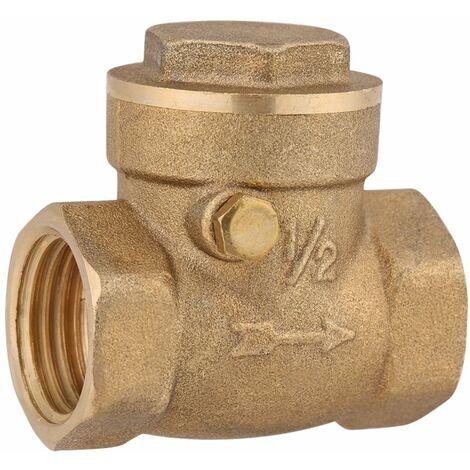 SOEKAVIA filetage femelle en laiton anti-retour battant clapet anti-retour compresseur connecteur outil de pompe empêcher l'eau de refluer