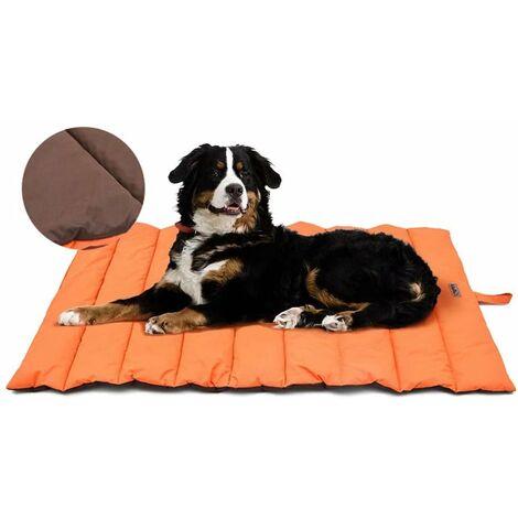 SOEKAVIA Tapis de chien imperméable pour l'extérieur, lit de chien lavable, antistatique, hygiénique, pliable, grande couverture de voyage pour animaux de compagnie 110x68 cm