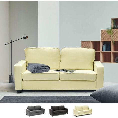 Sofá 2 plazas de tejido para salón y salas de espera diseño Rubino