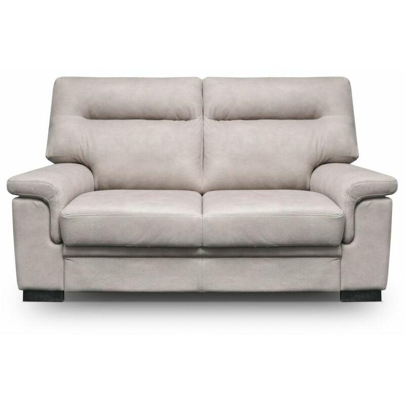 Fun Moebel - Sofa 2-Sitzer OPAL mit Schlaffunktion Beige