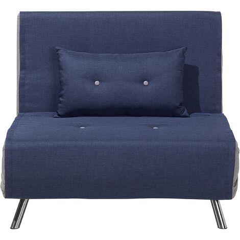 Sofá cama azul FARRIS