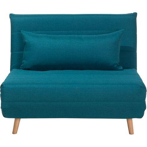 Sofá cama azul SETTEN