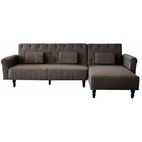 Sofá-cama chaise longue Chester