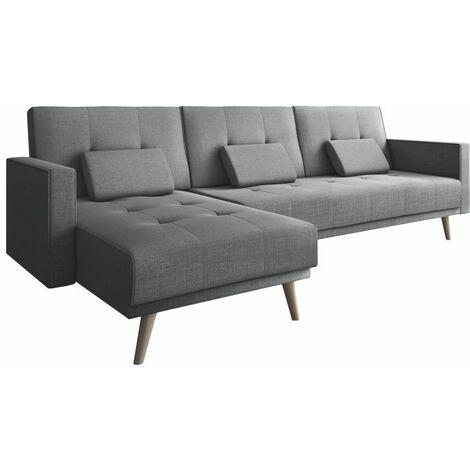 Sofá-cama chaise longue VeronaGris