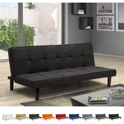Sofá Cama Diseño En Tejido 2 Plazas para casa y oficina Giada