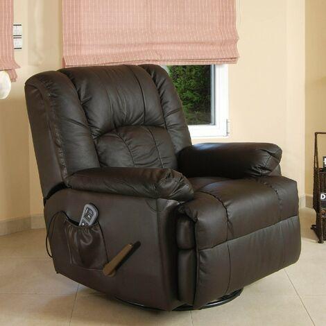Sofá de masaje ECO-DE® ECO-8615 MARRON