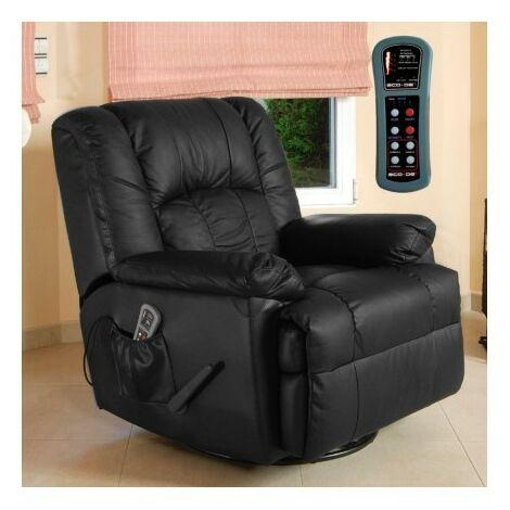 Sofá de masaje ECO-DE® ECO-8615 NEGRO