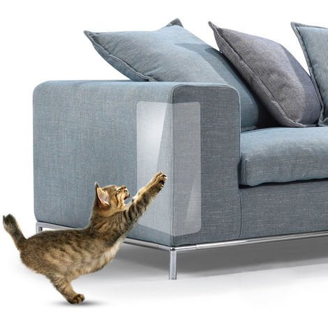 Sofa furniture protection cat scratch sticker (4 pieces L size)