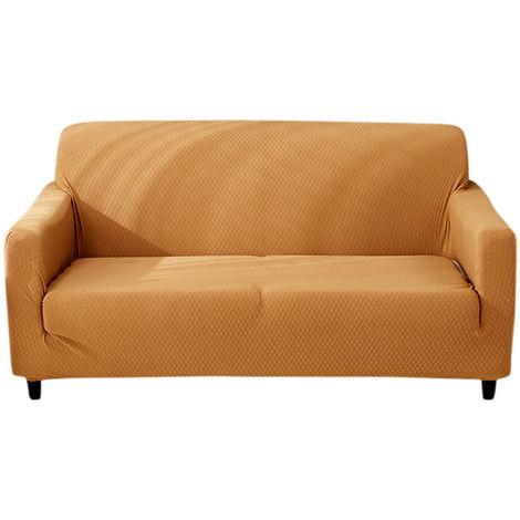 Sofa lavable Protector Sofa extraible Cubierta de muebles,Caqui