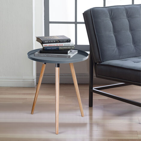 Sofa Side End Table Coffee Table Console Tray Shelf Rack