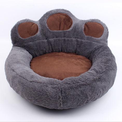 Sofe suave del animal domestico, cama del animal domestico Estera, perros y gatos cama el dormir, cafe, S