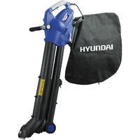 Soffiatore elettrico hyundai 35810 aspiratore trituratore 275km/h 2800w