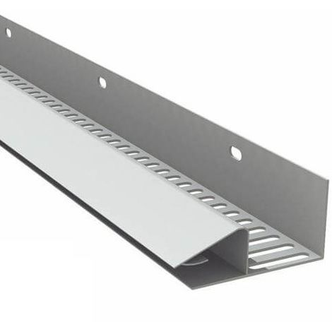 Soffit Vent Strip - 50mm x 2.5mtr White