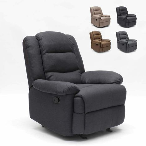 SOFIA Recliner Swing Armchair with Footrest