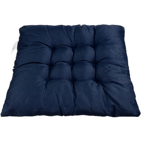 Soft Blue Square Chair Cushion