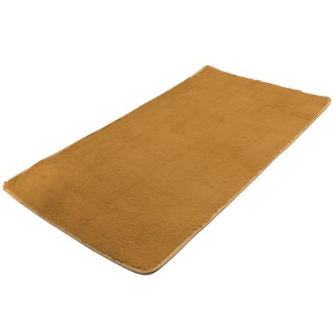 Soft carpet Anti-Skid Shaggy space Dining room carpet Bedroom bedroom carpet Khaki