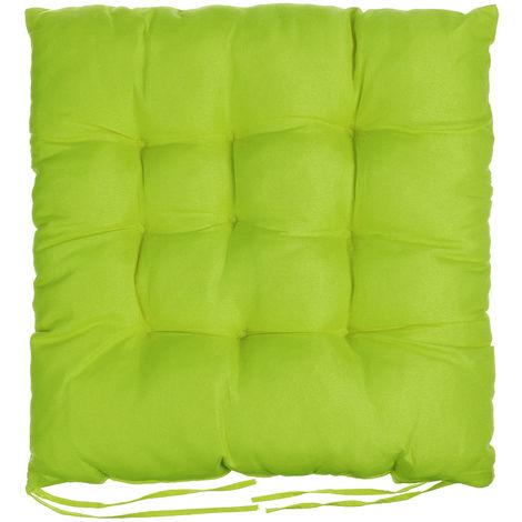 Soft Green Square Chair Cushion