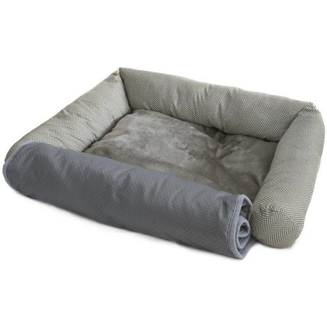 Soft Tweed sofa kennel for dogs and cats Ferribiella
