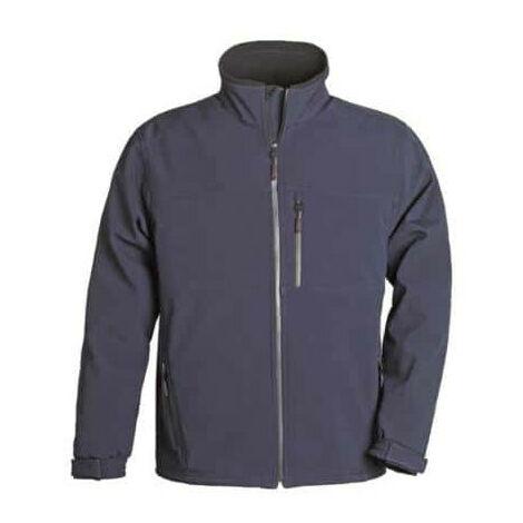 Softshell Jacket navy blue size S Yang Coverguard
