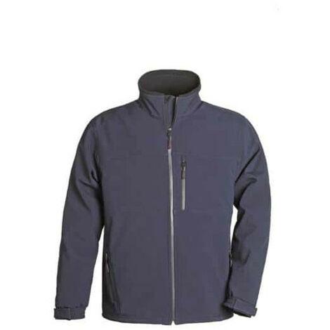 Softshell Jacket navy blue Yang Coverguard size L