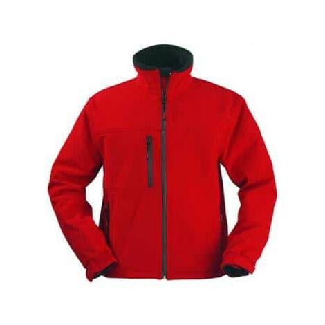 Softshell Jacket red Yang Coverguard size XXXL