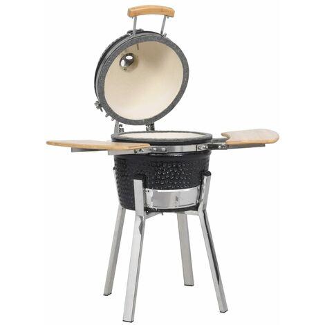 Sol 72 Outdoor 41cm Barrel Charcoal BBQ by Dakota Fields - Black