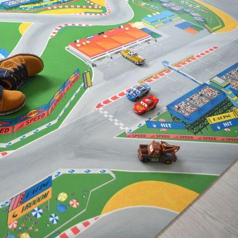 Sol Plastique pour les enfants - Circuit Grand Prix F1