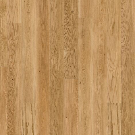 Sol PVC à clipser - boite de 7 lames - 1,61m² - Essentiel Click 30 - imitation parquet English Oak Natural - Tarkett