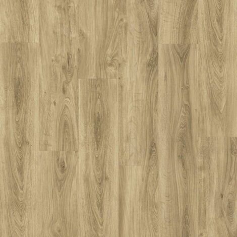 Sol PVC à clipser - boite de 7 lames - 1,61m² - Starfloor Click 55 - imitation parquet English Oak Natural - Tarkett