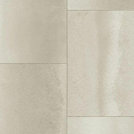 """main image of """"Sol PVC Best - Motif carrelage rectangulaire - Béton grège"""""""