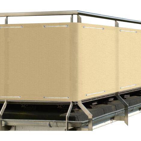 Sol Royal Brise vue pour balcon SolVision PB2 PES 500x90cm