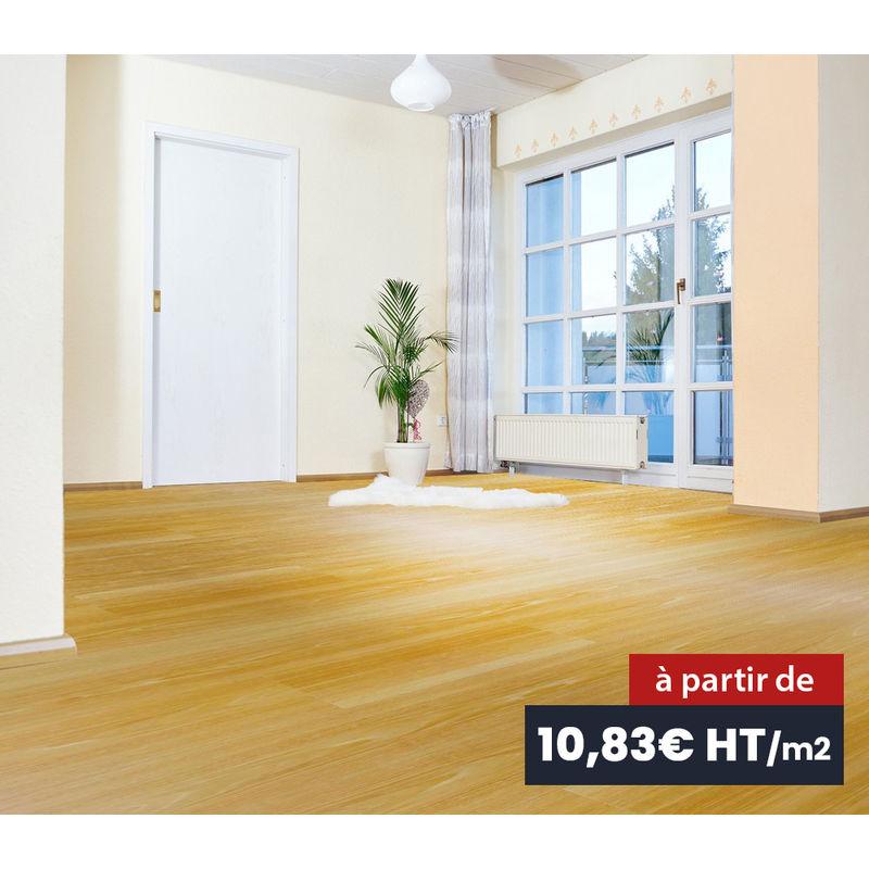 sol souple parquet pvc grand passage imitation bois 2. Black Bedroom Furniture Sets. Home Design Ideas
