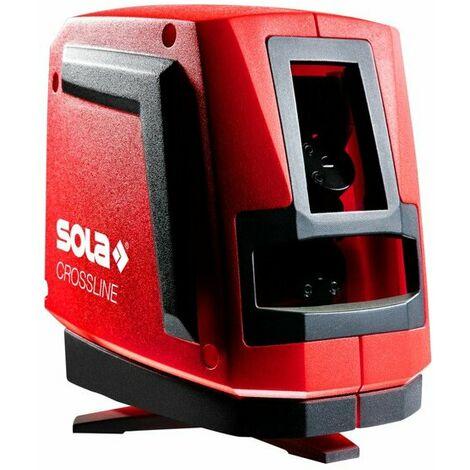 Sola CROSSLINE Laser à lignes en coffret - 20m - Rouge